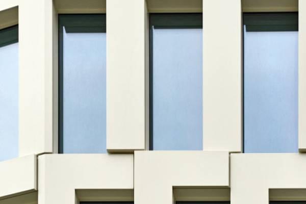 Ingesamt wurden 3800 Einzelelemente der Fassade verbaut